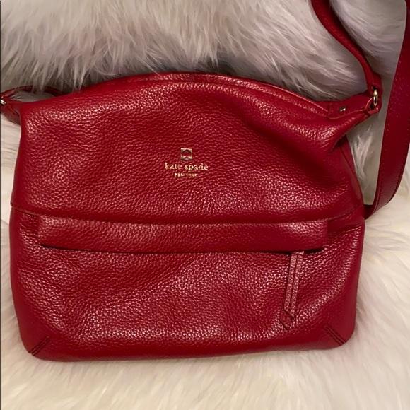 Kate spade purse red